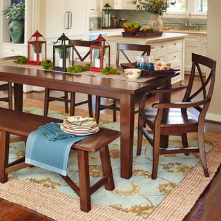 torrance dining set contemporary dining room dallas