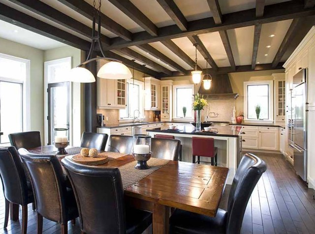 Town of Blue Mountains,  Mountain Chateau transitional-dining-room