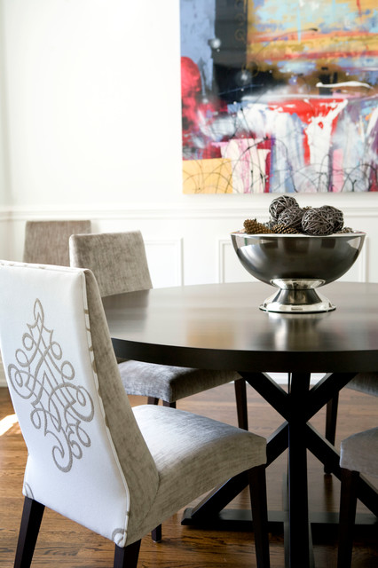 Townhouse Traditional Dining Room Toronto By