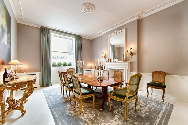 Townhouse central london traditional dining room for Dining room zetter townhouse