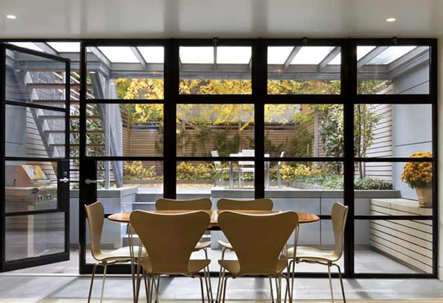 Townhouse modern-dining-room