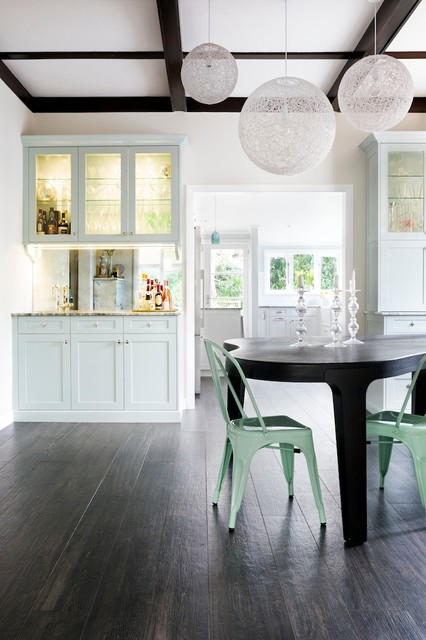 Tradition updated kitchen and dining traditional for Update traditional dining room