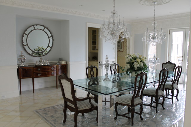 Traditional Dining Lawrence NY Home