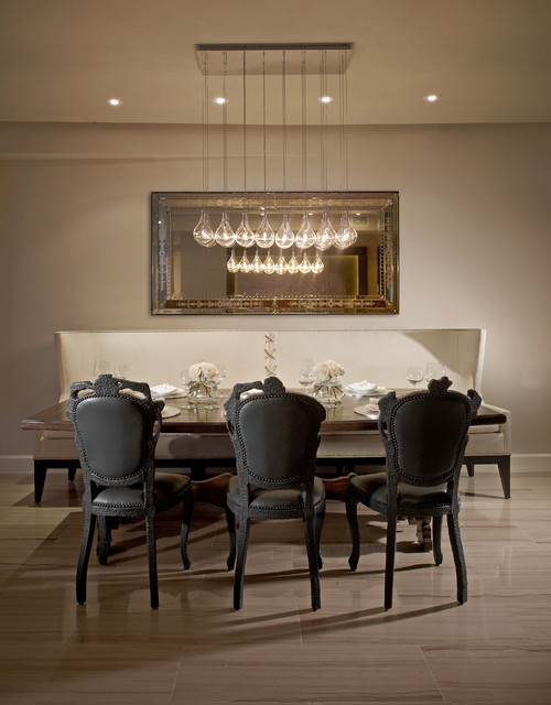 Model Residences at the St. Regis Resort, Bal Harbour traditional dining room