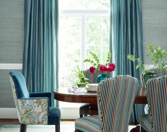 Myriad Fabric Collection traditional dining room