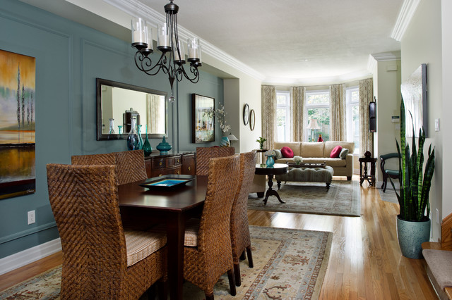 Compass Way traditional-dining-room