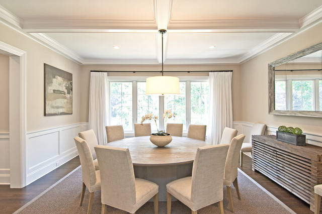 traditional dining room by EB Designs
