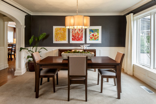 Who Is The Lighting Manufacturer Of Chandelier Over Dining Table