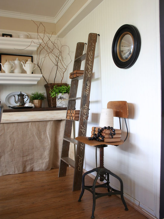 ladder bookshelf home design ideas pictures remodel and