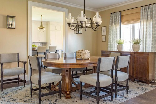 Dining room design for New england dining room ideas