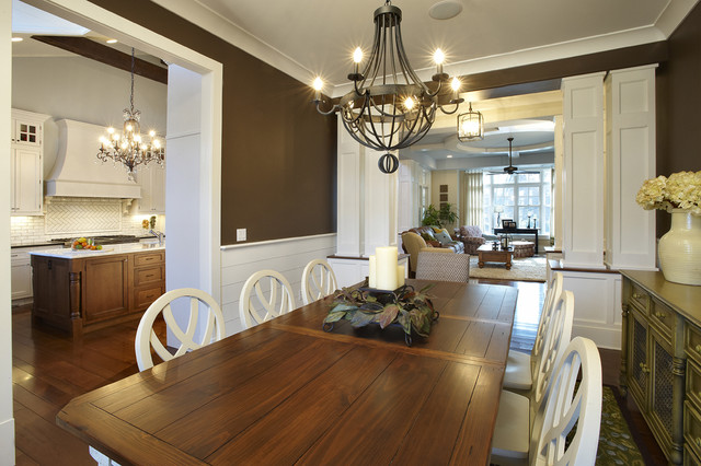 New Construction farmhouse dining room