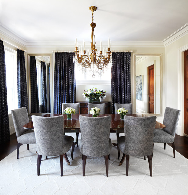 Great Inspiration For A Timeless Dark Wood Floor Enclosed Dining Room Remodel In  Dallas With Beige Walls