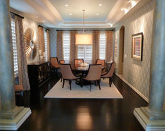 Glamour Dining Room traditional-dining-room