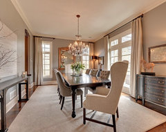 Exquisite Interiors in Minneapolis traditional dining room