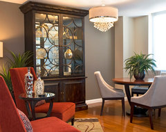Warm Trending traditional-dining-room