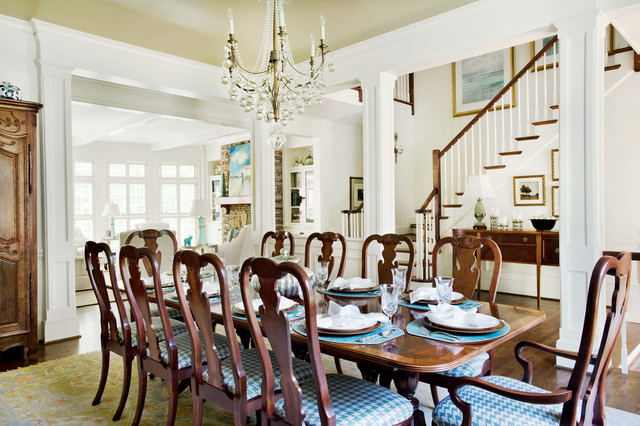 Traditional georgian manse full home design traditional for Georgian dining room ideas