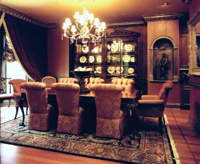 Traditional Grandeur traditional-dining-room