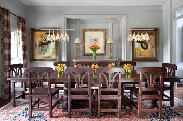 Traditional Home Magazine Traditional Dining Room Atlanta By Kmh Interiors Houzz Uk