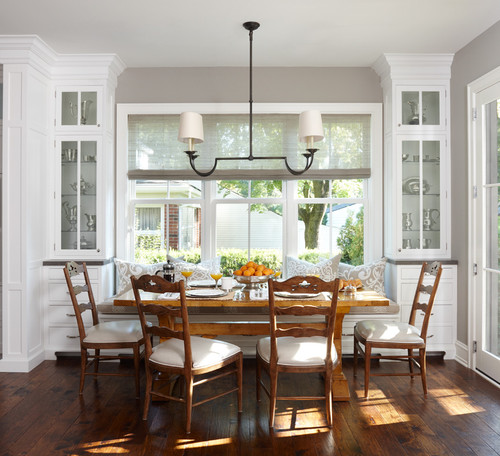 Home Ideas For Extra Seating At The Dinner Table