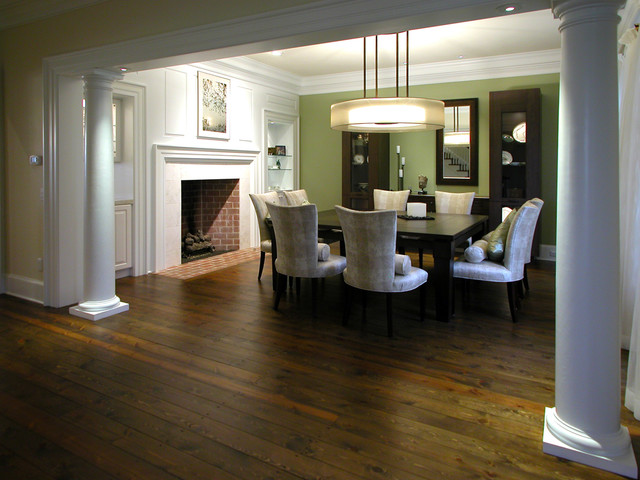 Inspiration for a timeless dining room remodel in Other