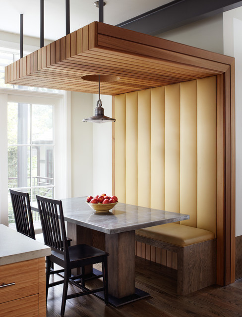 Traditional Renovation Modern Dining Room Chicago