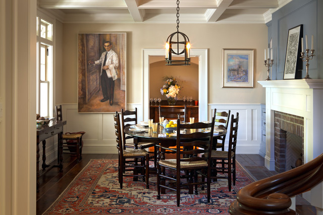 Bryant Street Traditional traditional-dining-room