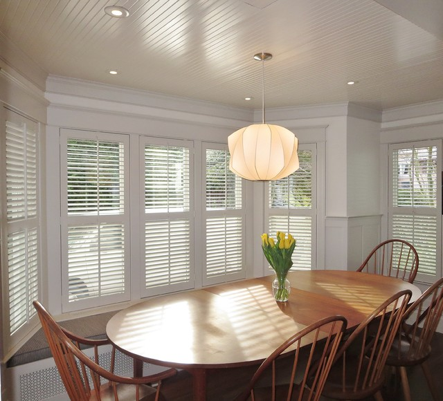 Traditional Small Louver Shutters