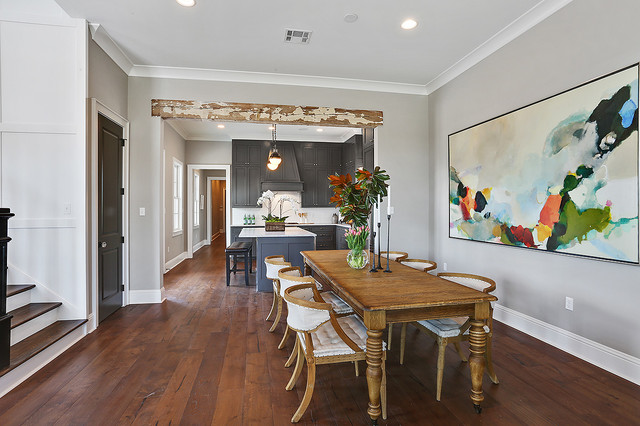 Traditional southern home in veranda at university club traditional dining room other by - Veranda dining rooms ...