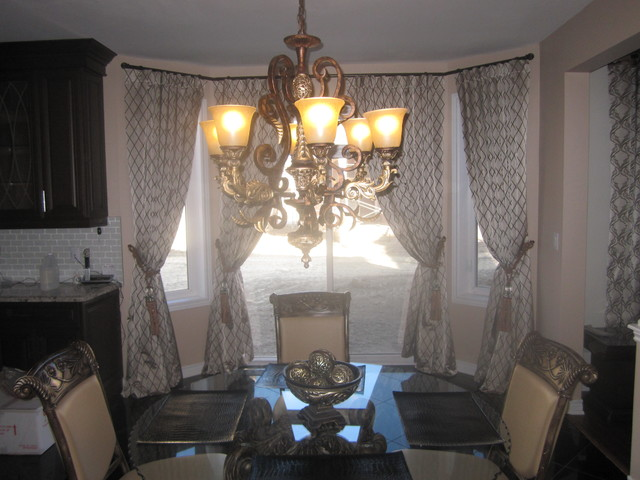 Traditional Window Treatments traditional-dining-room
