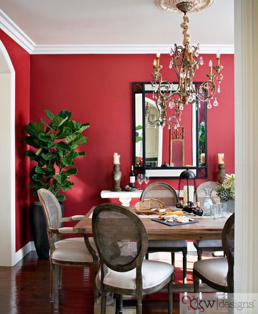 Dining Room Furniture San Diego: Traditional With A Modern Twist