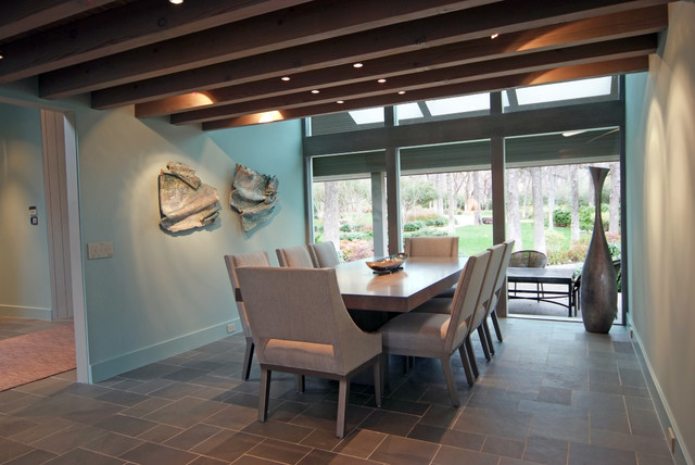 Tranquillite' Project contemporary-dining-room