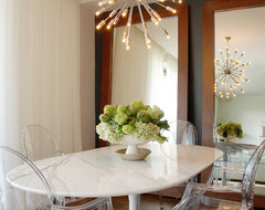 Sky High in Los Angeles transitional-dining-room
