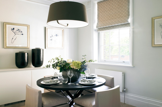 Holland park transitional dining room london by for Holland kitchen bathroom design ltd