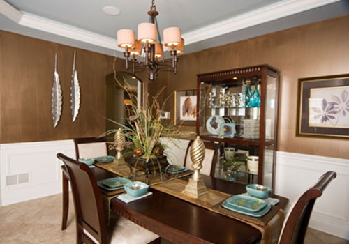 Transitional Dining Room - eclectic - dining room - chicago - by ...