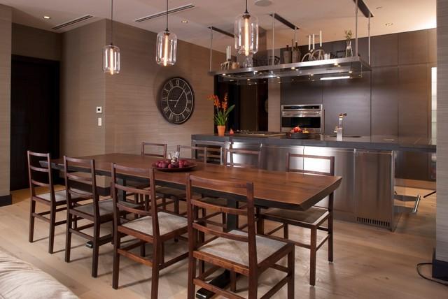 Solaris, Vail transitional-dining-room