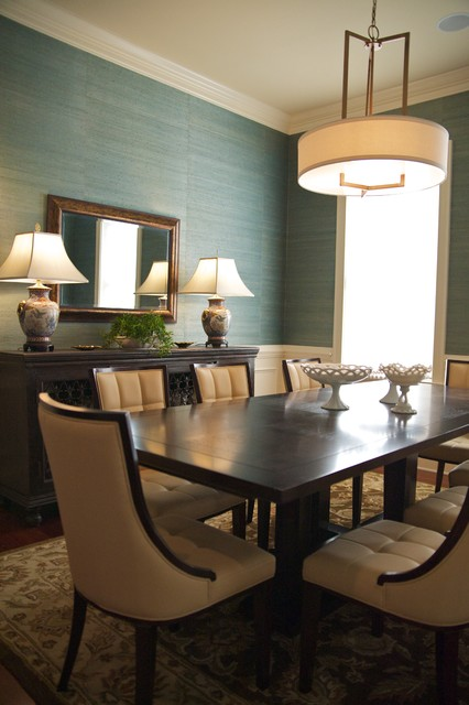 Transitional Dining Room - Contemporary - Dining Room - Charleston ...