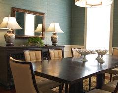 Transitional Dining Room contemporary-dining-room