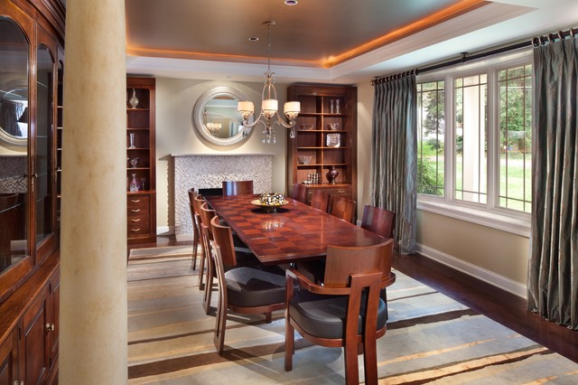 Transitional dining room for Dining room questionnaire