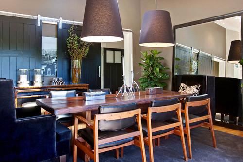 contemporary dining room by Urrutia Design