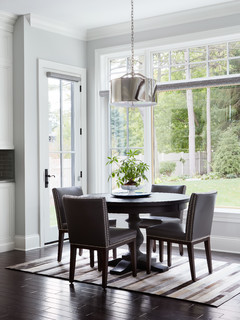 Transitional Farmhouse Transitional Dining Room Chicago By