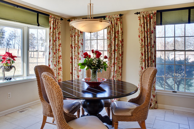 contemporary dining room by Audrey Kerchner