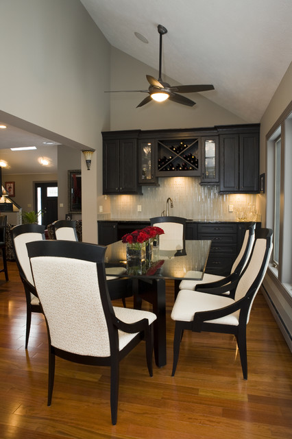 Transitional Home contemporary-dining-room