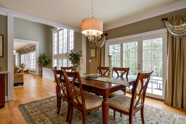 transitional informal dining room traditional dining