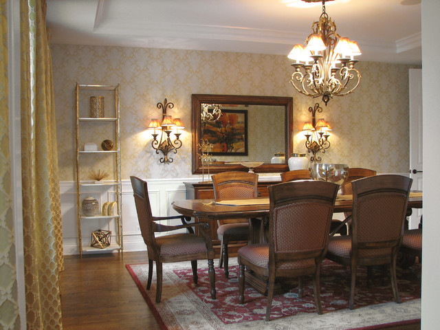 Transitional upgrades to a traditional home for Dining room upgrades