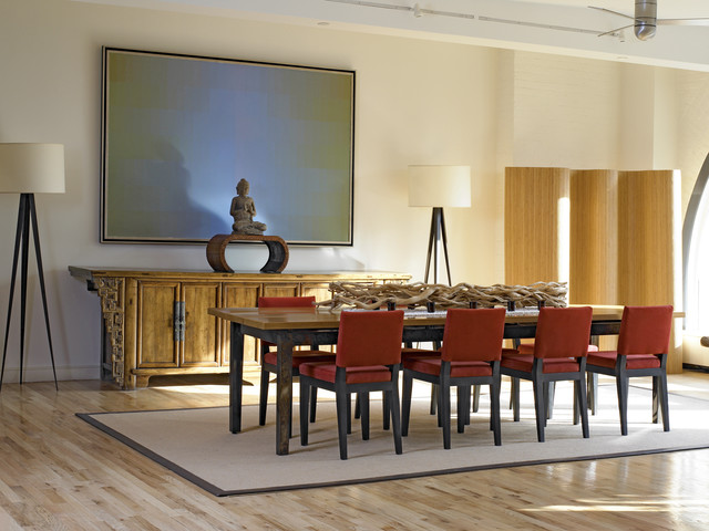 Serene And Practical 40 Asian Style Dining Rooms: Tribeca Loft