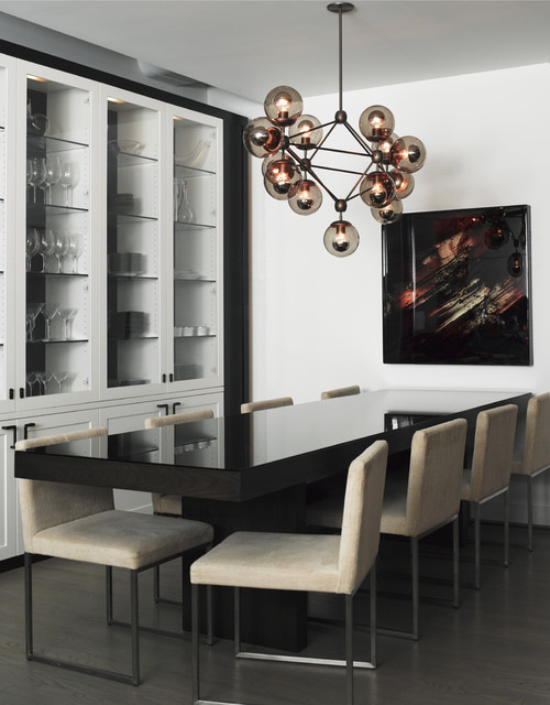 SchappacherWhite Ltd. modern dining room