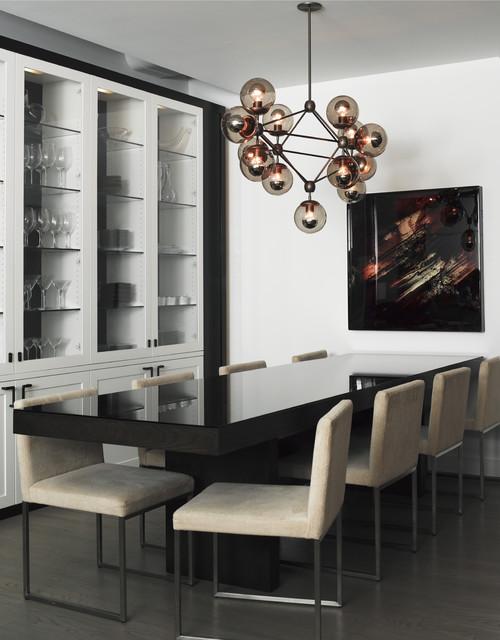 TriBeCa loft modern-dining-room