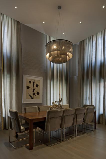 Tribeca Loft contemporary-dining-room