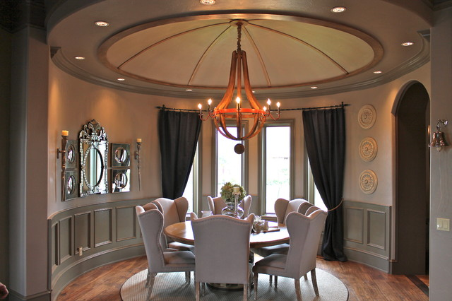 Trim Work traditional-dining-room