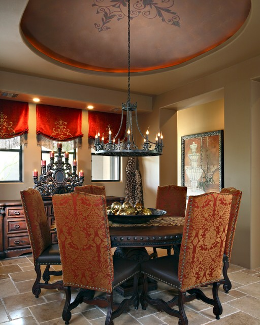 Troon Mountain mediterranean-dining-room